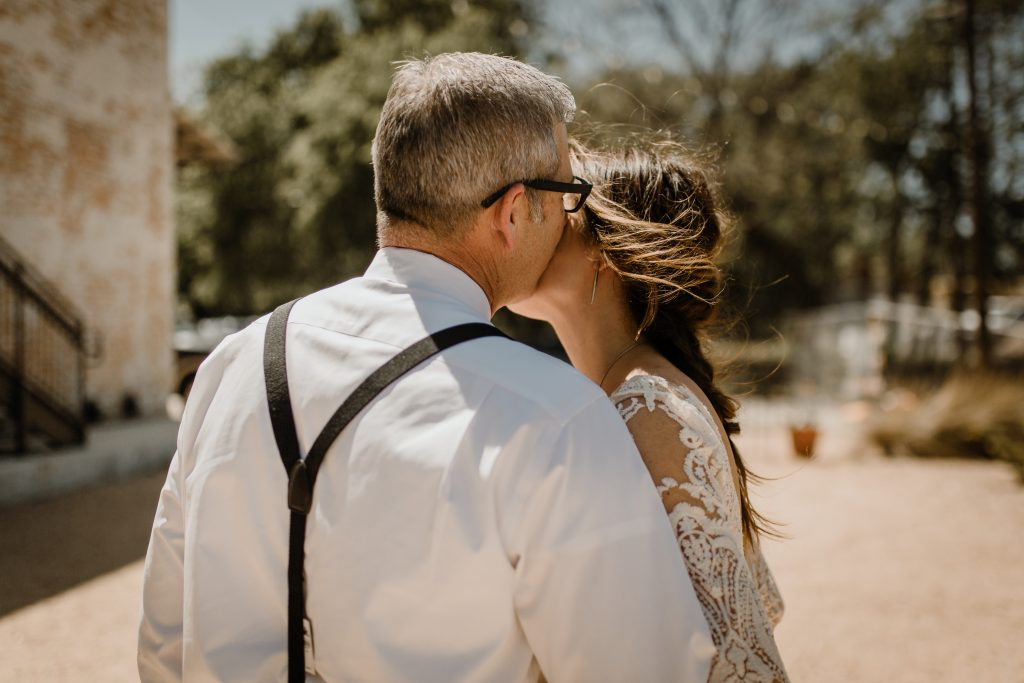 Bohemian Romance Surprise Vow Renewal - Special Moments after the Ceremony