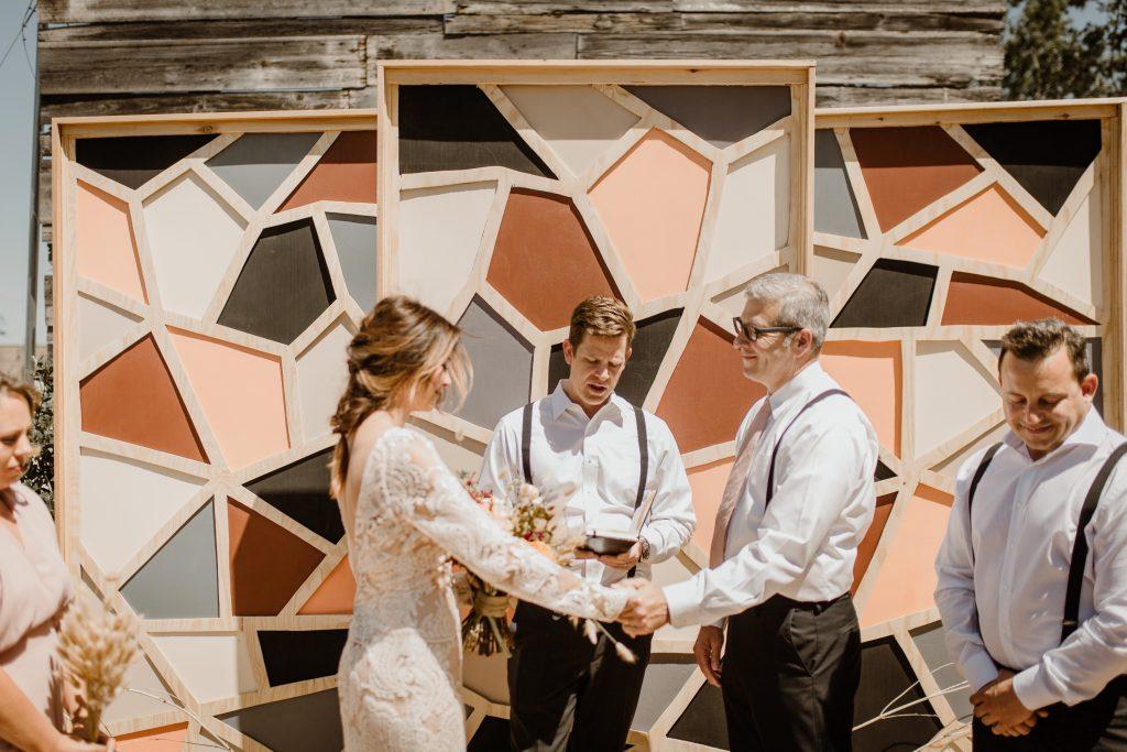 Bohemian Romance Surprise Vow Renewal - Vows