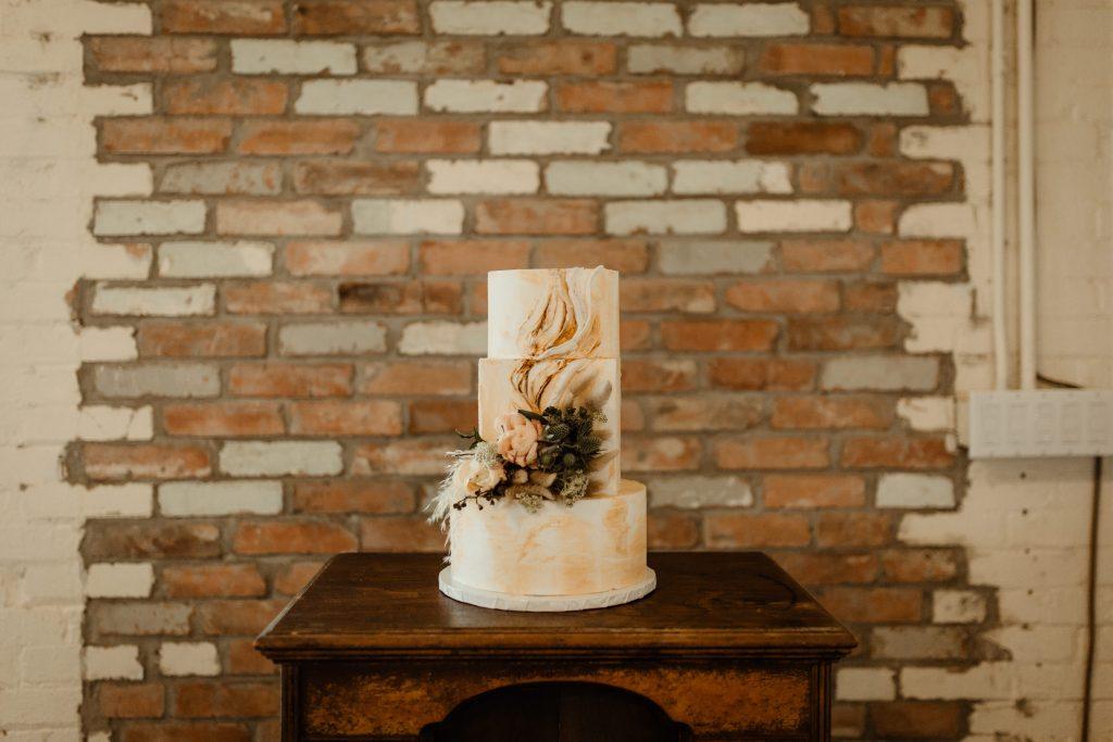 Bohemian Romance Surprise Vow Renewal - Bohemian Cake