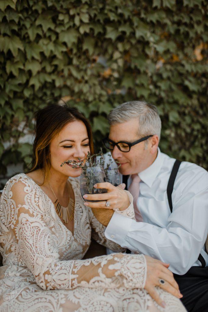 Bohemian Romance Surprise Vow Renewal - Intimate Lounge