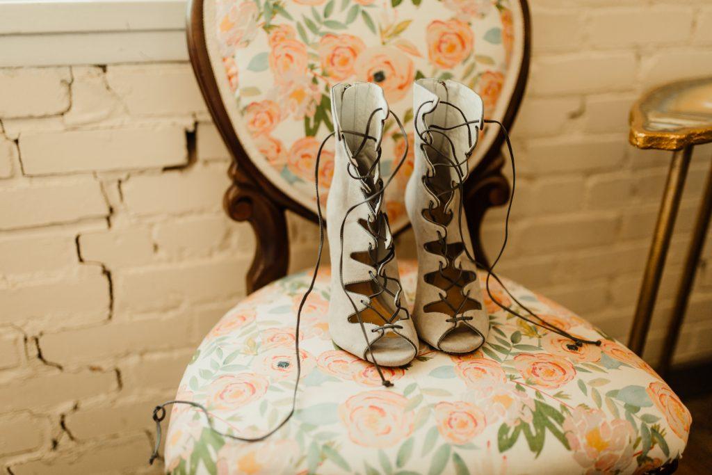 Bohemian Romance Surprise Vow Renewal - Bridal Shoes
