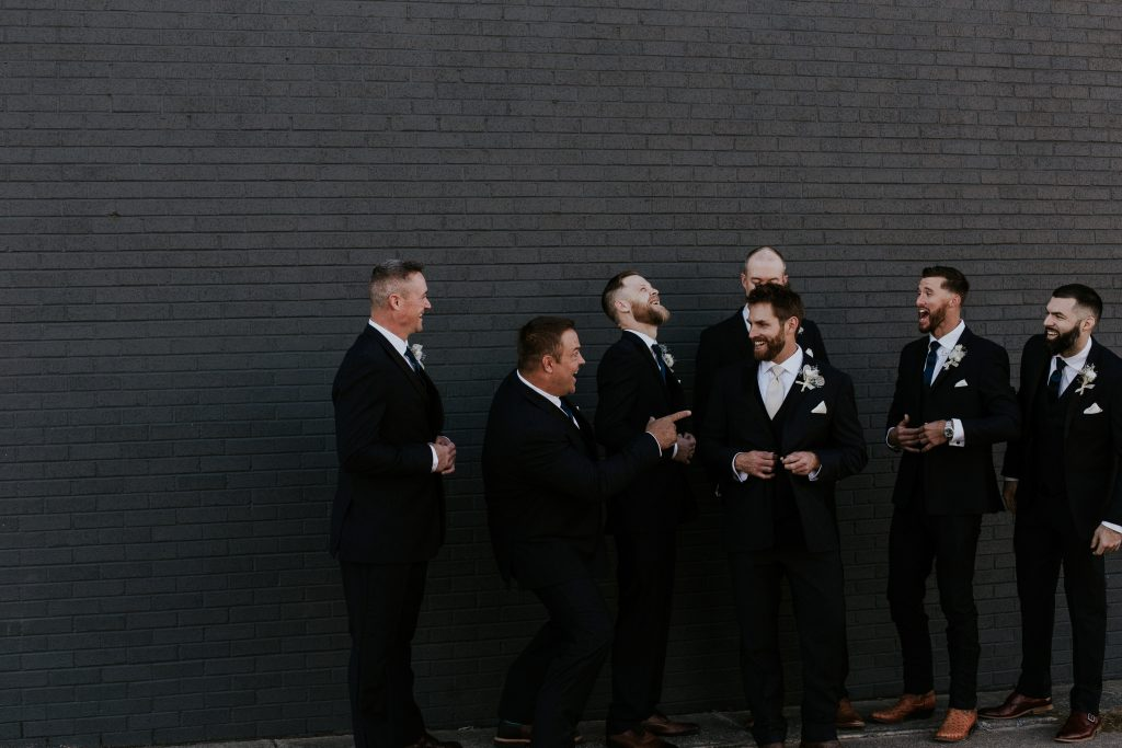 Winter Romance Wedding - Groomsmen