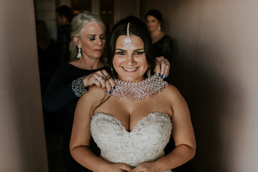 Winter Romance Wedding - Bride Getting Ready