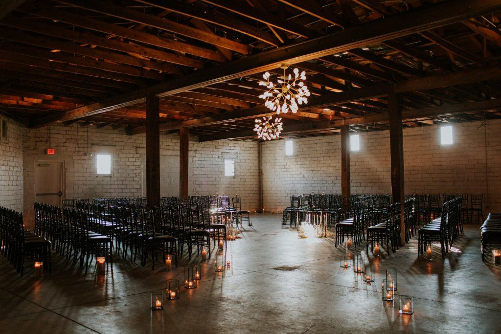 Winter Romance Wedding - Ceremony Details