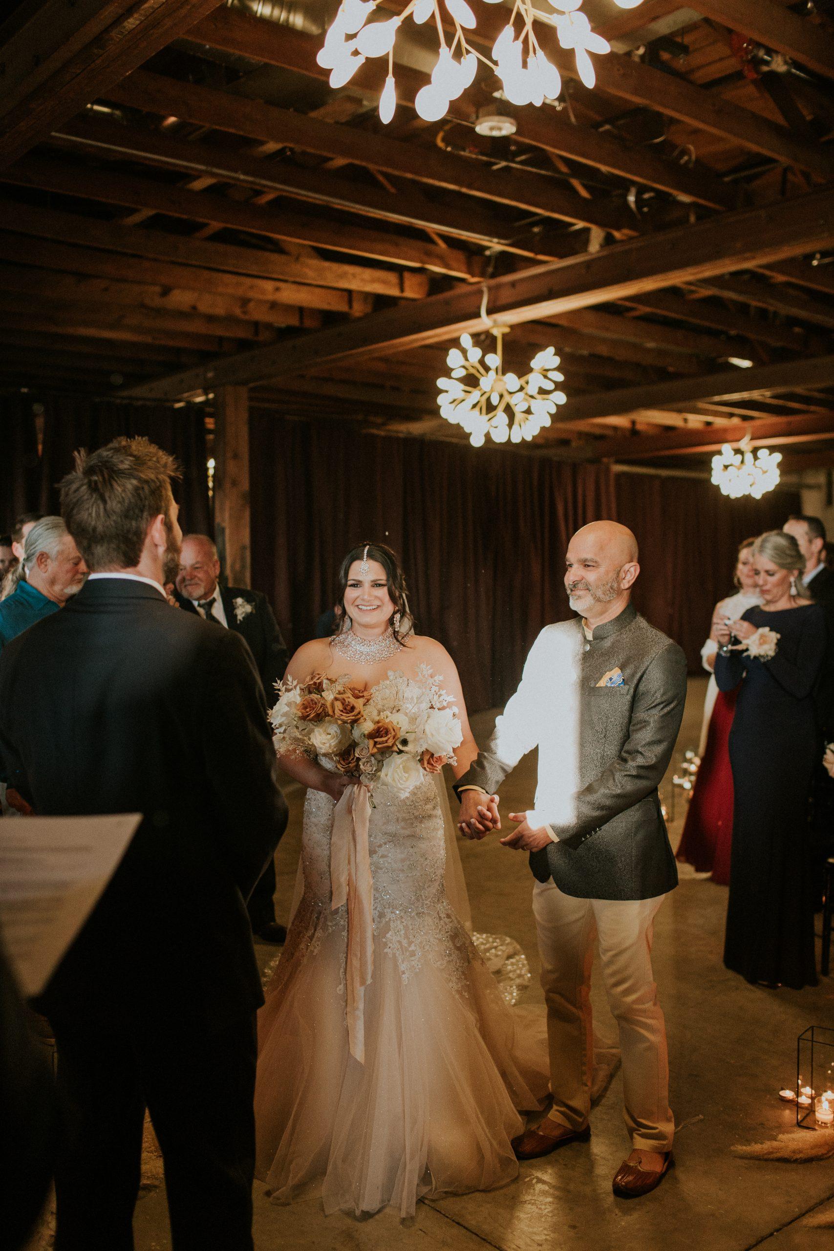 Winter Romance Wedding - Ceremony