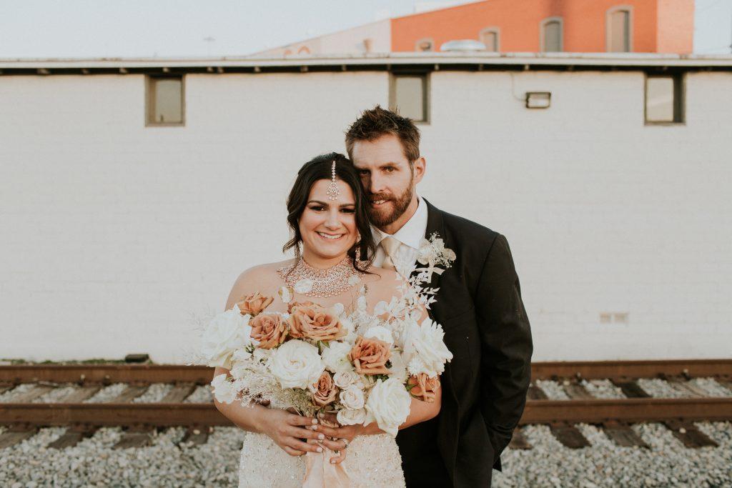 Winter Romance Wedding - Couple Portraits