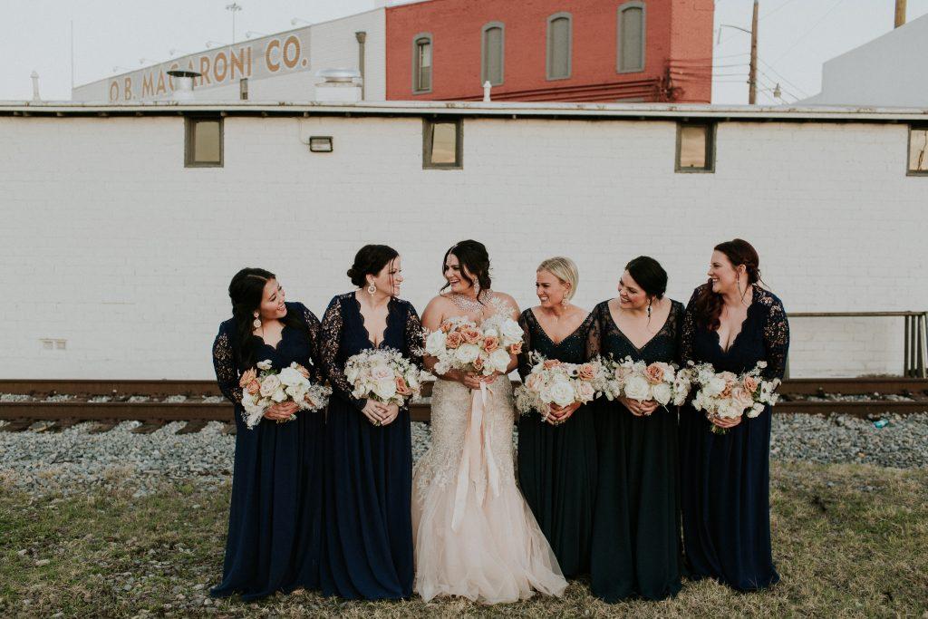 Winter Romance Wedding - Bridal Party
