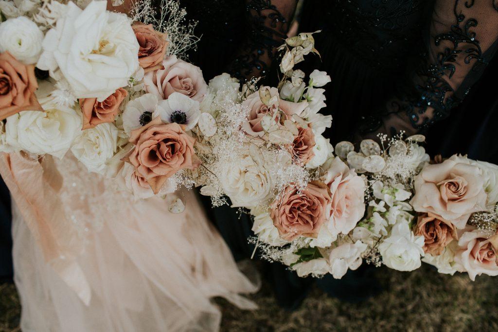 Winter Romance Wedding - Bridal Flowers