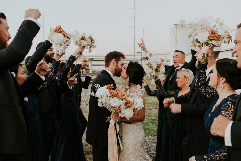 Winter Romance Wedding - Wedding Party