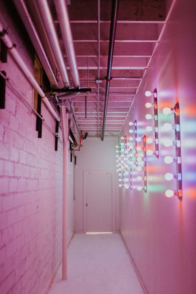 Winter Romance Wedding - Hallway of Lights