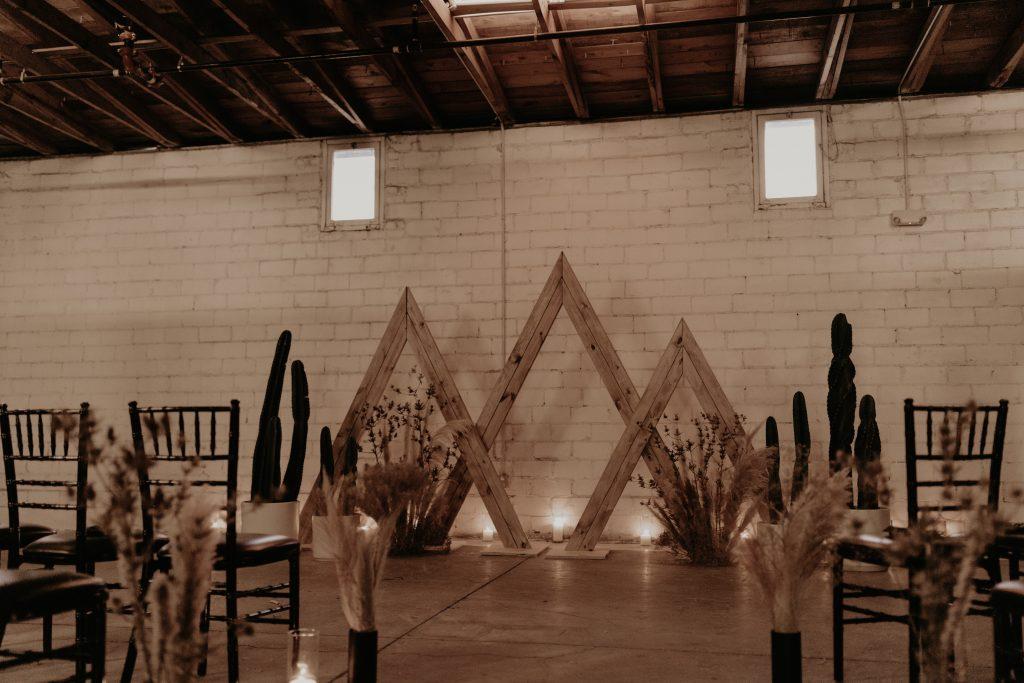 Mod West Wedding - Ceremony Design
