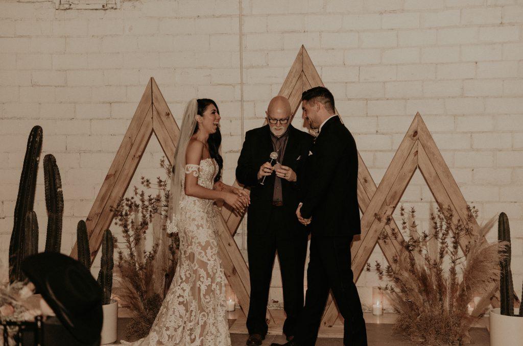 Mod West Wedding - Ceremony