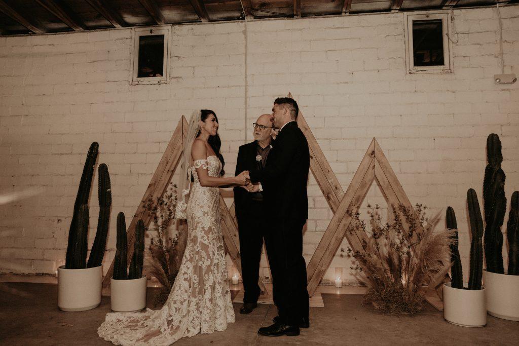 Mod West Wedding - Cerermony